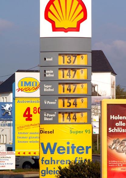Ed Tankstelle Preise